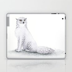 Snowy Fowl II Laptop & iPad Skin