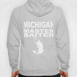 Michigan Master Baiter Bass Fisherman Hoody