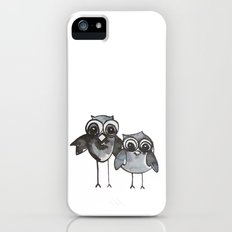 Two Feathered Friends iPhone (5, 5s) Slim Case