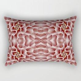 Fractal Art - Rose Rectangular Pillow