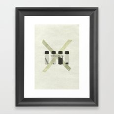 x-files Framed Art Print