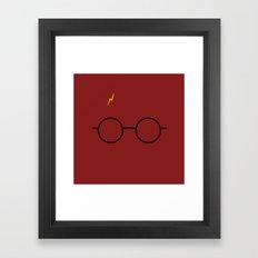 potter Scar Framed Art Print