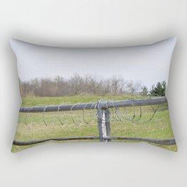 Barbwire Rectangular Pillow