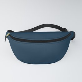 Christmas Midnight Blue Fanny Pack