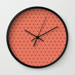 Netted Wall Clock