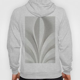White sculpture Hoody