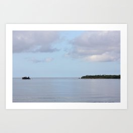Treasure Island Photo Art Print