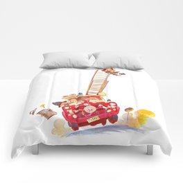 Third grade fire brigade Comforters