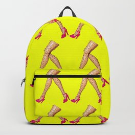 March Of The Hairy Legs! Funny Barbie Inspired Pop Art! Backpack