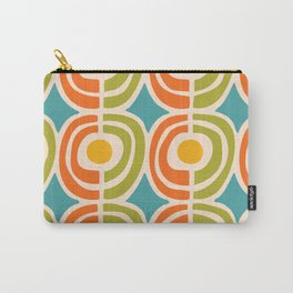 Mid Century Modern Solar Flares Pattern 2 Carry-All Pouch
