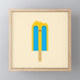 Crying Popsicle Framed Mini Art Print