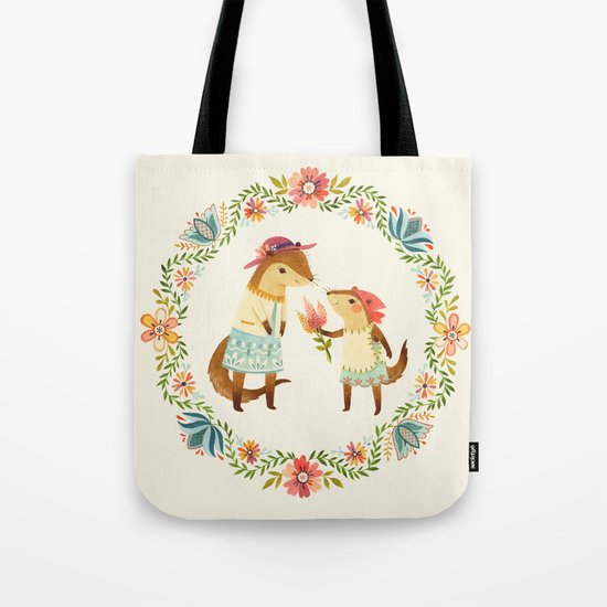 Otterly Grateful Tote Bag