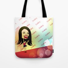 Rebecca Black Hits the Red Carpet Tote Bag