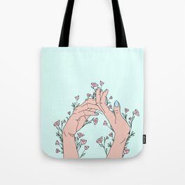 Let It Grow Tote Bag