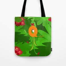 q for quetzal Tote Bag