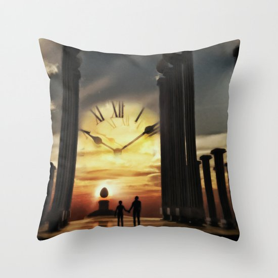 Until The End Of Time Throw Pillow