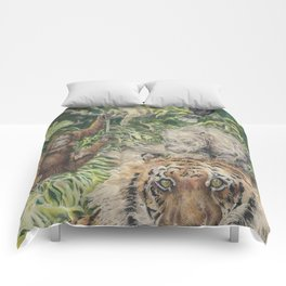 Indonesian Rain Forest Comforters