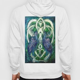 Celtic Peacocks Hoody