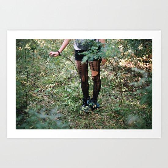 The Runaway Art Print