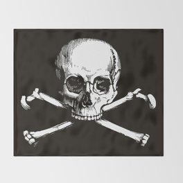 Skull and Crossbones | Jolly Roger Throw Blanket