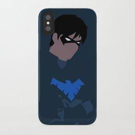 Nightwing Minimalism iPhone Case