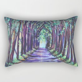 Kauai Tree Tunnel Rectangular Pillow