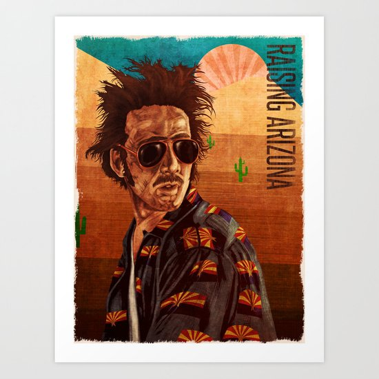 Raising arizona Art Print