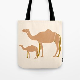 Camel Mother #draw #society6 #animal Tote Bag