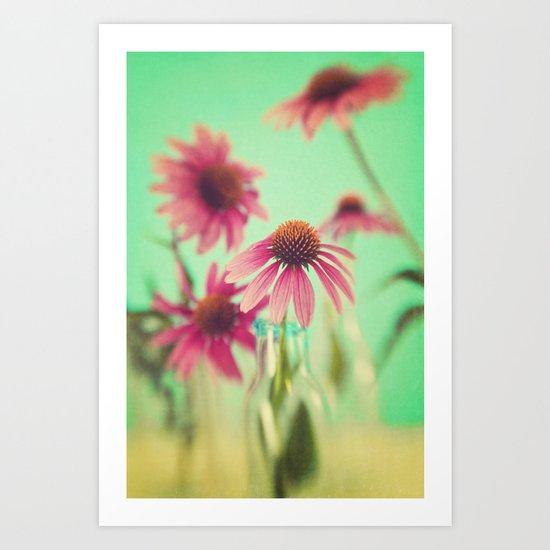 The Coneflowers Art Print