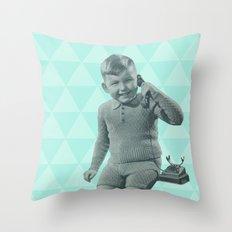 Geometric vintage Throw Pillow