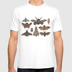 The Collection White MEDIUM Mens Fitted Tee
