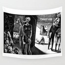 TRUST 100% Wall Tapestry
