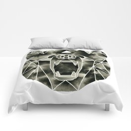 Fractured Geometric Bear Comforters