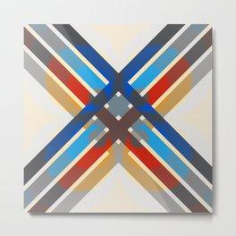 Selkie - Colorful Abstract Art Metal Print