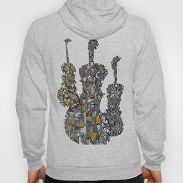 Three Fiddles Hoody