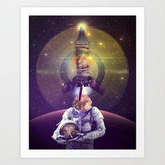 Rocketman Art Print