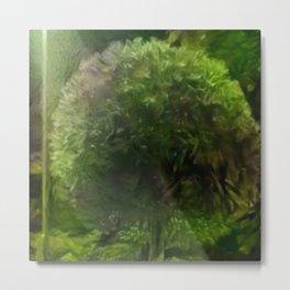 Marine Algal Tree Metal Print