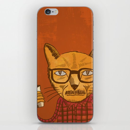 Working with designers is like herding cats iPhone & iPod Skin