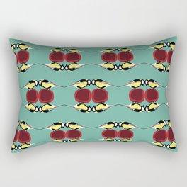 Titmouse bird pattern Rectangular Pillow