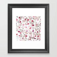 pomegranates Framed Art Print