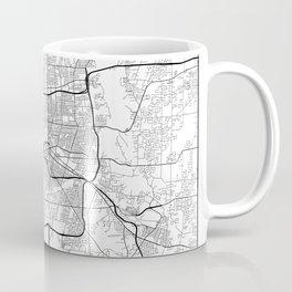 Minimal City Maps - Map Of Rochester, New York, Untited States Coffee Mug