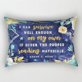 I can survive Rectangular Pillow