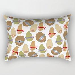 Ninja Boobs Rectangular Pillow