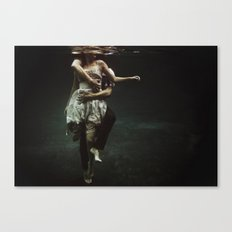 abyss of the disheartened : V Canvas Print