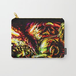 Metroid Metal: Ridley- Through the Fire.. Carry-All Pouch