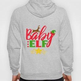 Baby Elf christmas Short sleeve Hoody