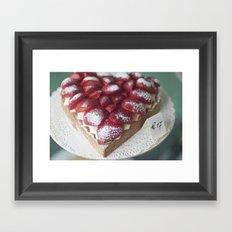 Sweetheart Pie Framed Art Print