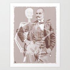 Crown Pursuit Art Print