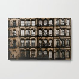 NY windows Metal Print