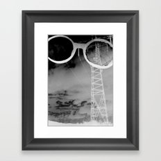 Giants in the Sky Framed Art Print